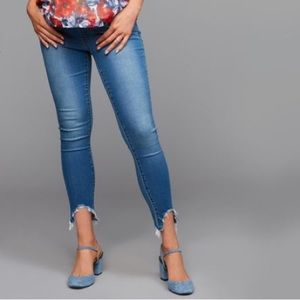 Articles Of Society Secret Fit Carly Crop Jeans